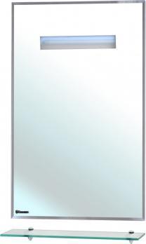 Зеркало Bellezza Ника 60 с полкой и с подсветкой