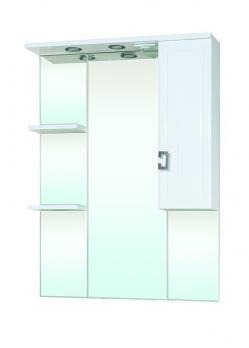 Зеркало-шкаф Bellezza Миа 85 R белый