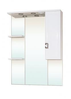 Зеркало-шкаф Bellezza Миа 75 R белый