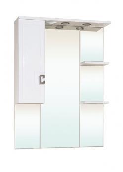 Зеркало-шкаф Bellezza Миа 75 L белый
