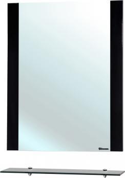 Зеркало с полкой Рокко 80 черное